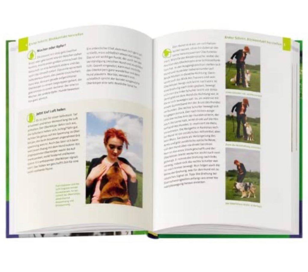 """Einblick in das Buch """"Body Talk-Körpersprache für Hundehalter"""""""