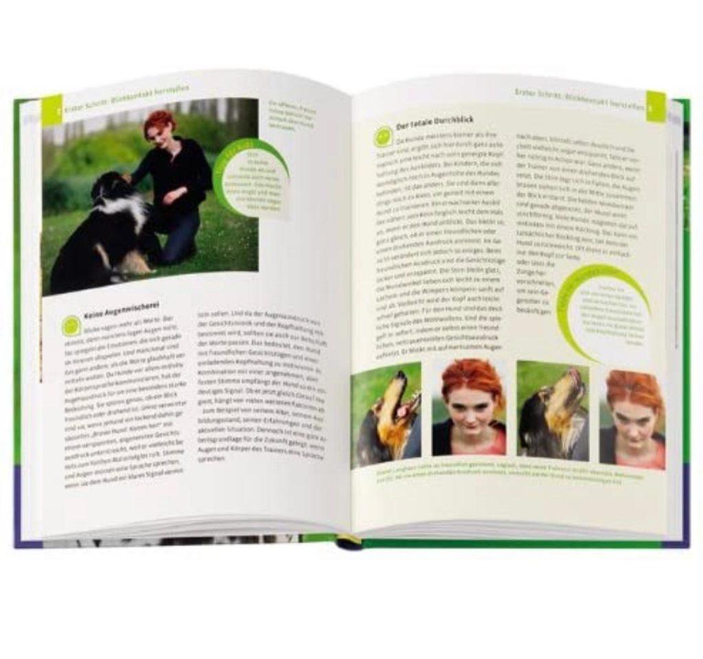 """Einblick in das Buch """"Body Talk-Körpersprache für Hundehalter"""" von Ramona Teschner"""
